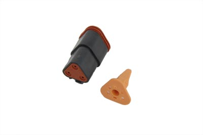 Deutsch Sealed 4 Wire Connector Component