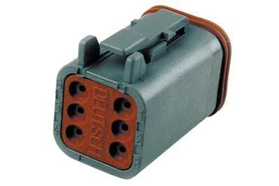 Deutsch Sealed 6 Wire Connector Component