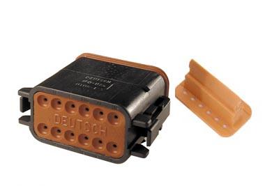 Deutsch Sealed 12 Wire Connector Component