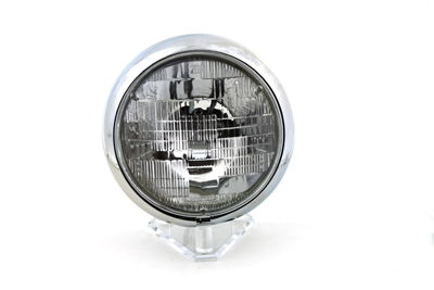 "6 Volt 7"" Round Sealed Beam Headlamp Assembly"