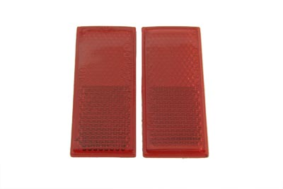 Rear Red Reflector Set