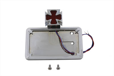 Tail Lamp and License Plate Assembly Maltese Style