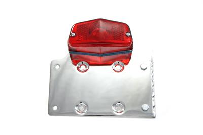 Chrome Side Mount Tail Lamp Kit