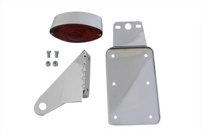 *UPDATE Chrome Vertical Cateye Tail Lamp Kit