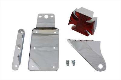 *UPDATE Chrome Maltese Side Mount Tail Lamp Kit