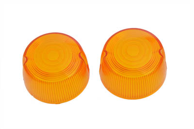 Turn Signal Lens Set Stock Style Amber