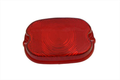 Tail Lamp Stock Type Red Plastic Lens