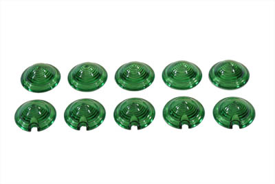 Bullet Style Marker Lamp Green Lens