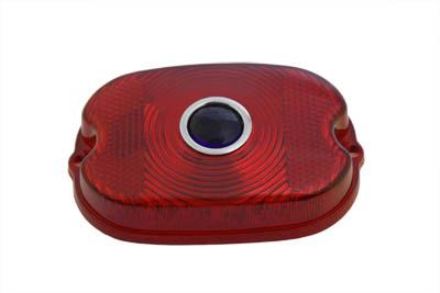 Tail Lamp Blue Dot Red Plastic Lens