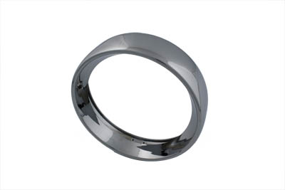 """7"""" Headlamp Chrome Frenched Trim Ring"""