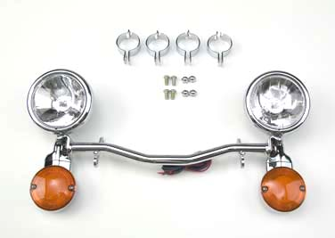 *UPDATE National Cycle Chrome Spotlamp Bar Kit