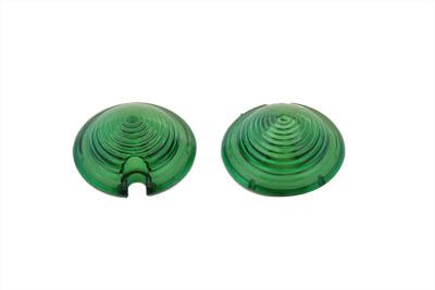 Bullet Style Marker Lamp Green Lens Set