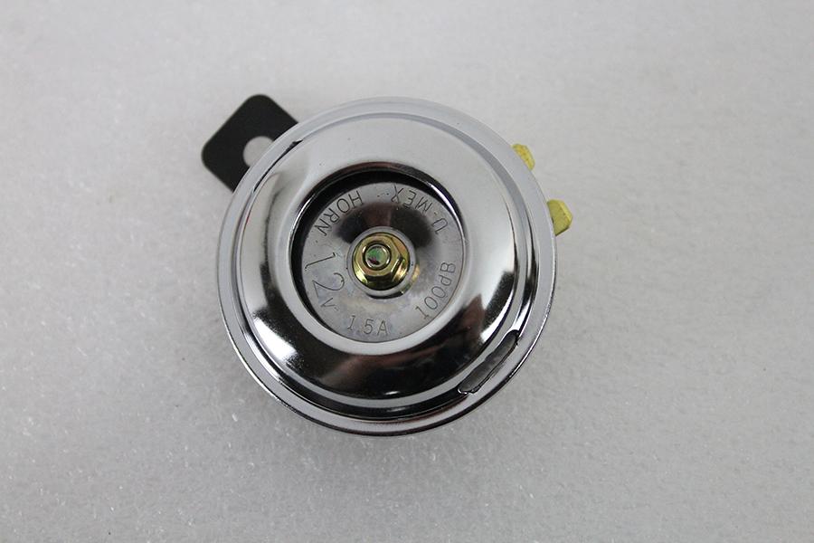 Smooth Style 12 Volt Mini Horn Chrome