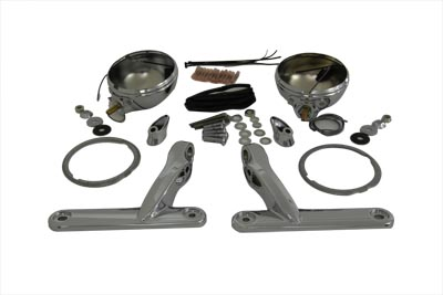 *UPDATE Chrome Spotlamp Shell and Bracket Kit