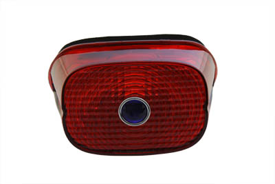 *UPDATE Tail Lamp Lens Red with Blue Dot