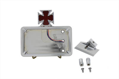 Chrome Horizontal LED Tail Lamp Kit Maltese Style