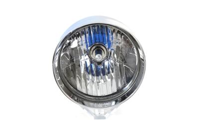 """*UPDATE 7"""" Round Rocket Style Headlamp Billet"""