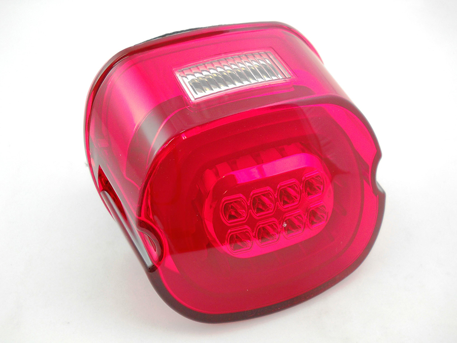 Lay Down LED Tail Lamp Red