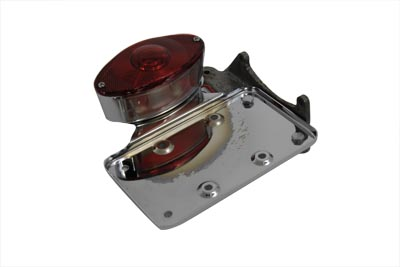 *UPDATE Chrome Cateye Tail Lamp Kit Horizontal Mount