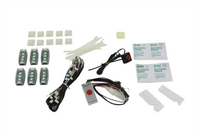LED Marker Lamp Pod Set with 6 Pods