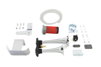 *UPDATE Chrome Air Horn Kit