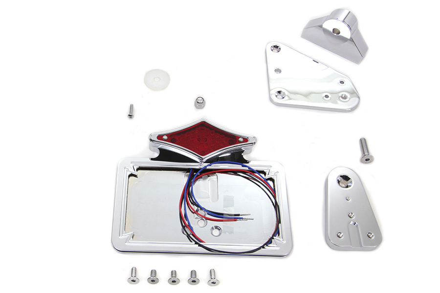 Chrome Tail Lamp Assembly