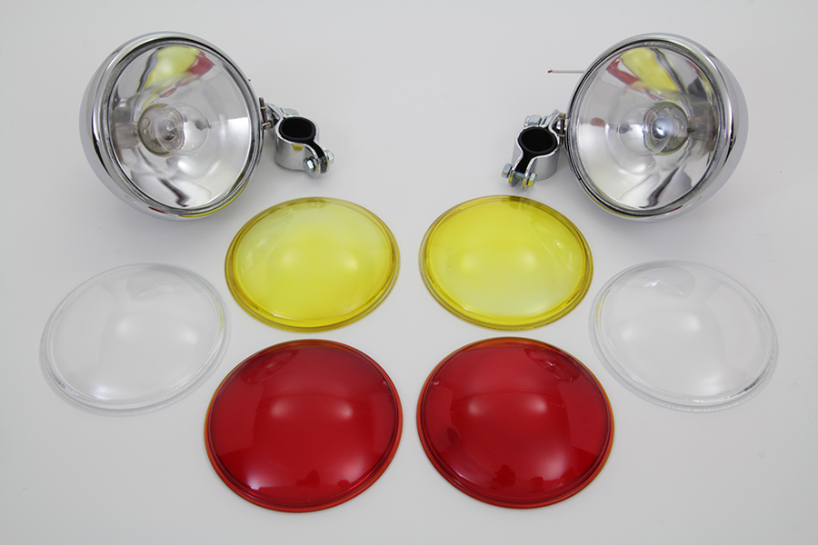 Chrome Spotlamp Set