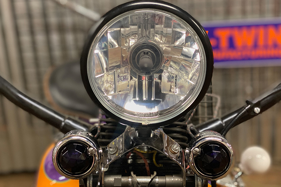 Tail Lamp Lens Set Faceted Purple