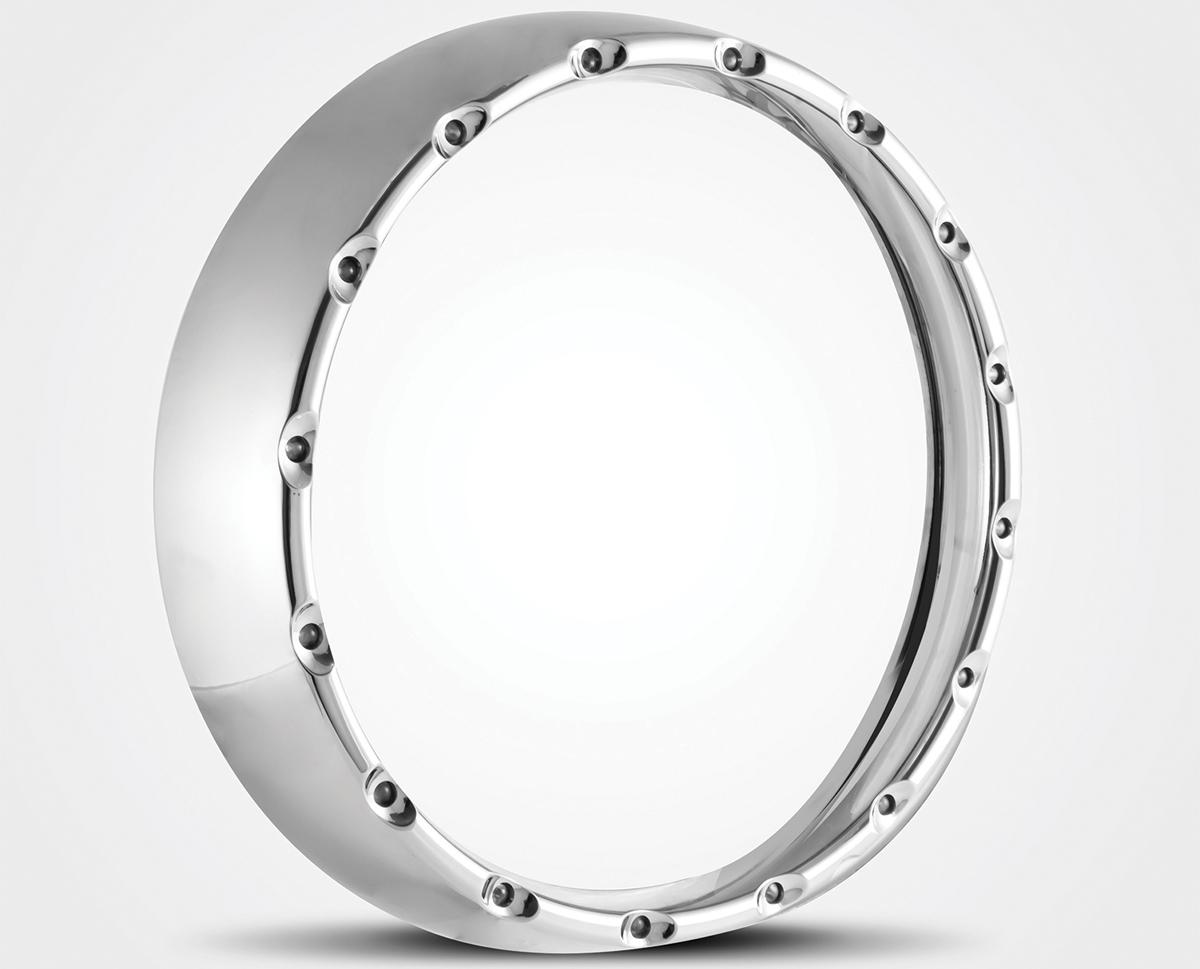 *UPDATE Halo LED Headlamp Ring Chrome