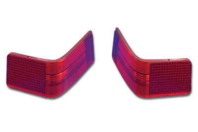 Tour Pak Red Tail Lamp Lens Set