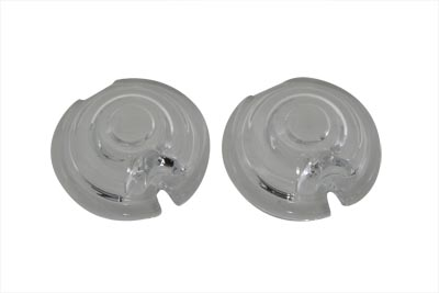 Replica Marker Lamp Lens Glass Bullet Style Clear