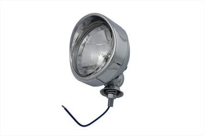 """*UPDATE Chrome 4"""" Spotlamp with H-3 Bulb Visor Type"""