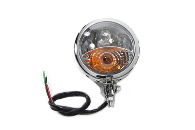 Chrome Spotlamp Assembly