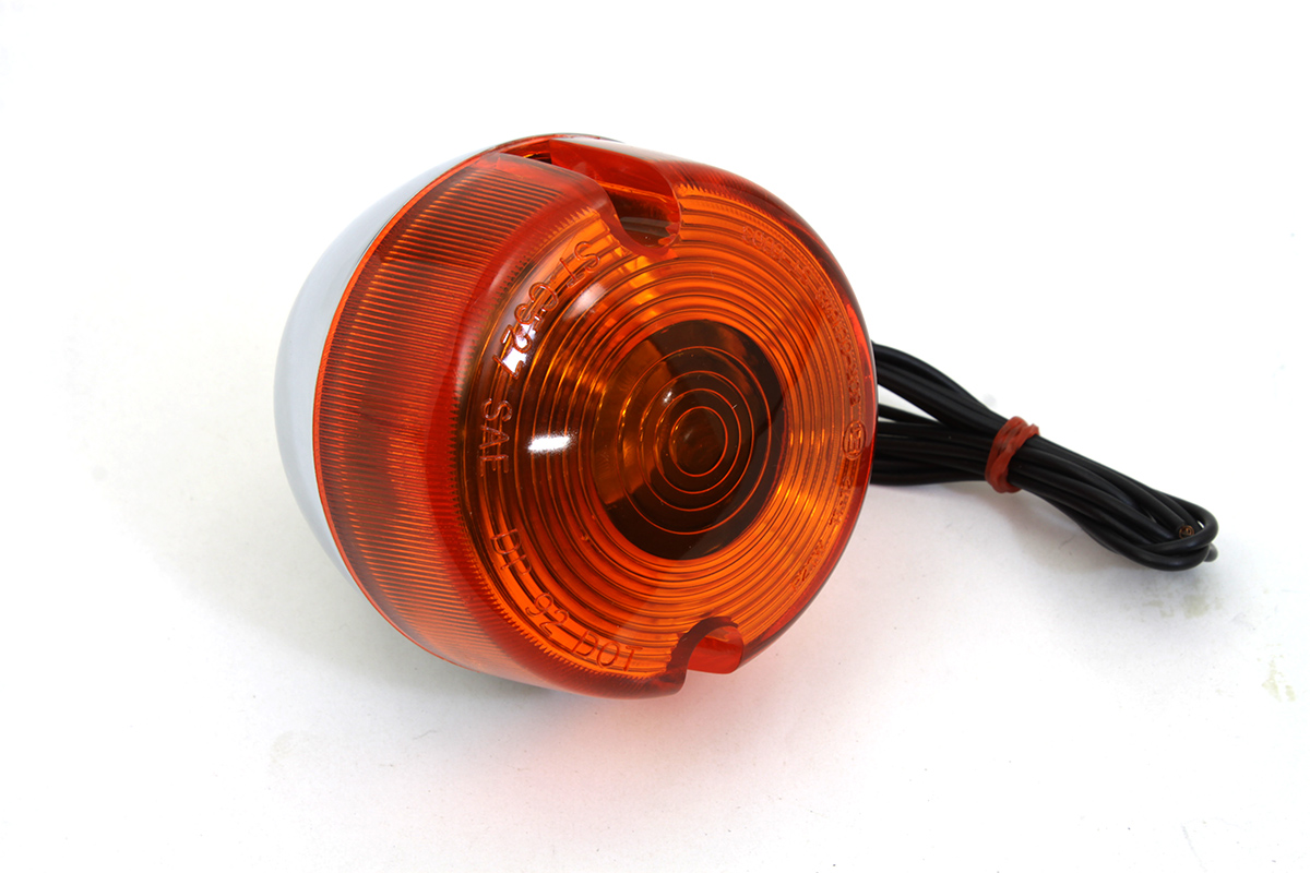 Chrome Turn Signal Assembly Front Right or Left