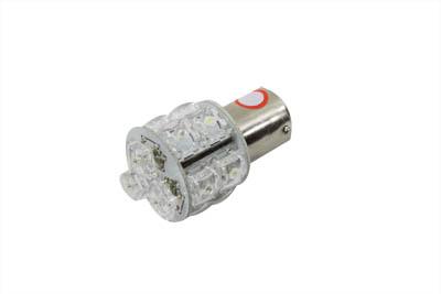 Super Flux LED Bulb Red and White