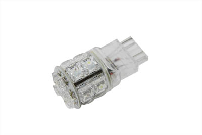Super Flux LED Wedge Style Bulb Amber and White