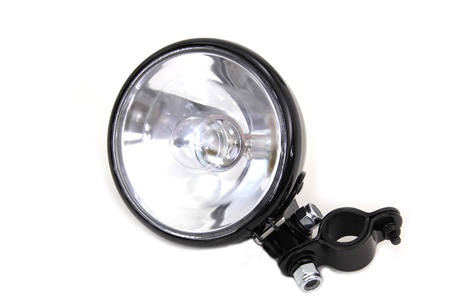 Black Spotlamp Assembly with Bulb