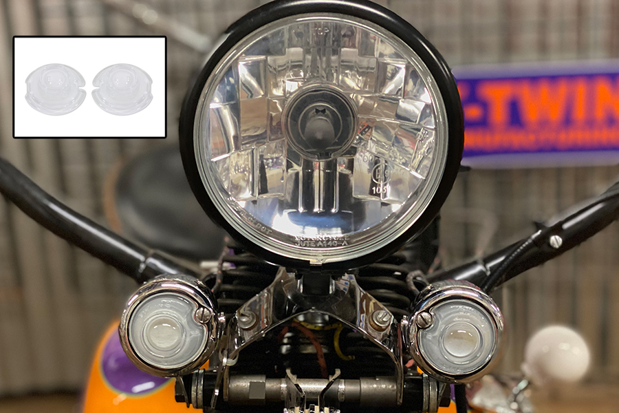 White Replica Guide Bullet Marker Lamp Set
