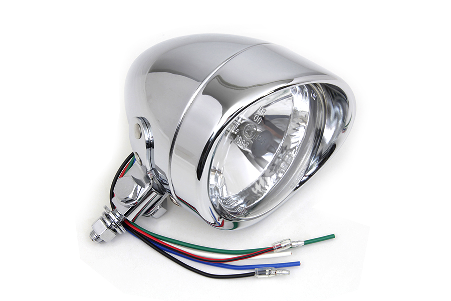 "4"" Round Headlamp 12 Volt"