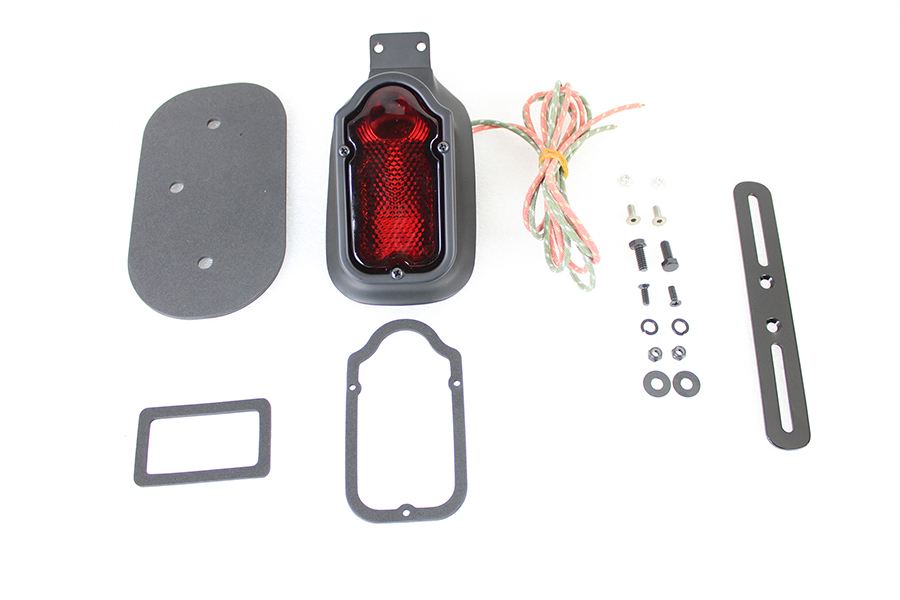 Replica Black Tombstone Style Tail Lamp Assembly