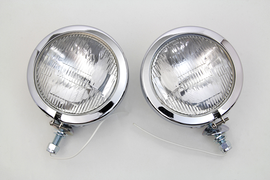 Chrome FL Spotlamp Set