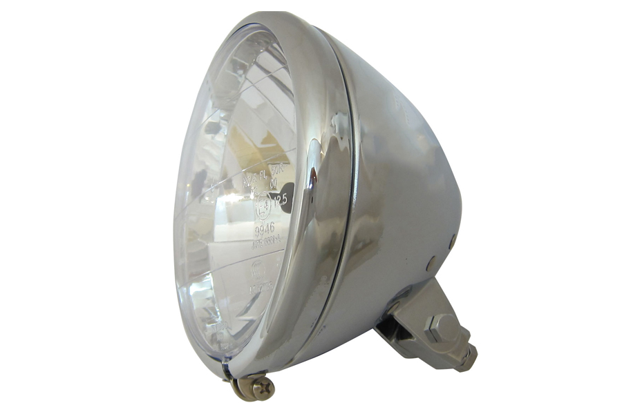 Spring Fork Style Headlamp Assembly Chrome