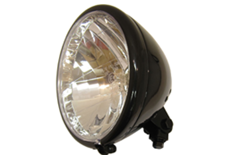 Spring Fork Style Headlamp Assembly Black