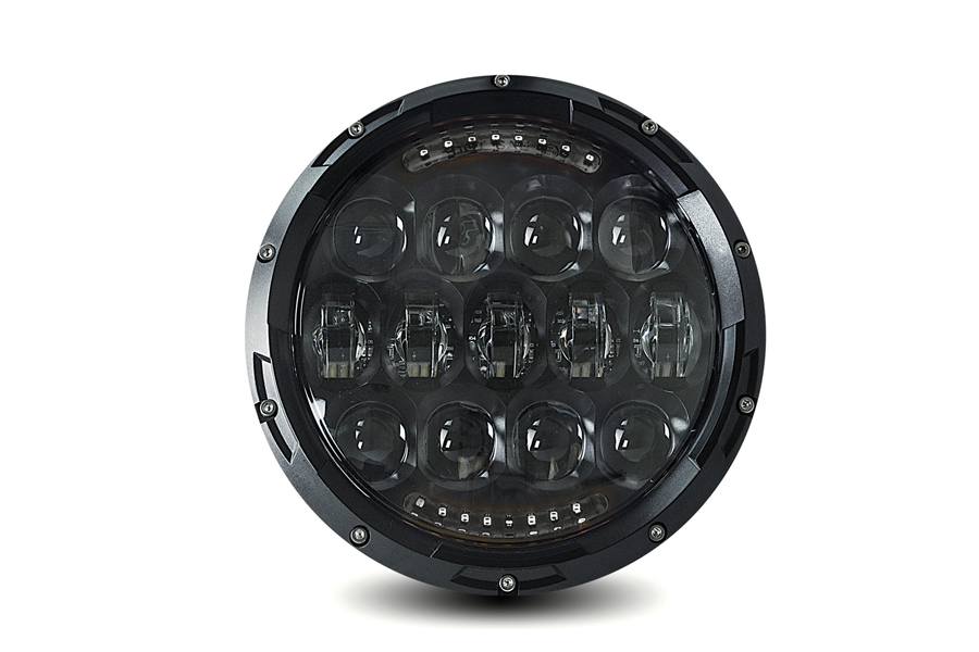 "Cyron Urban 7"" LED Headlamp Unit Black"