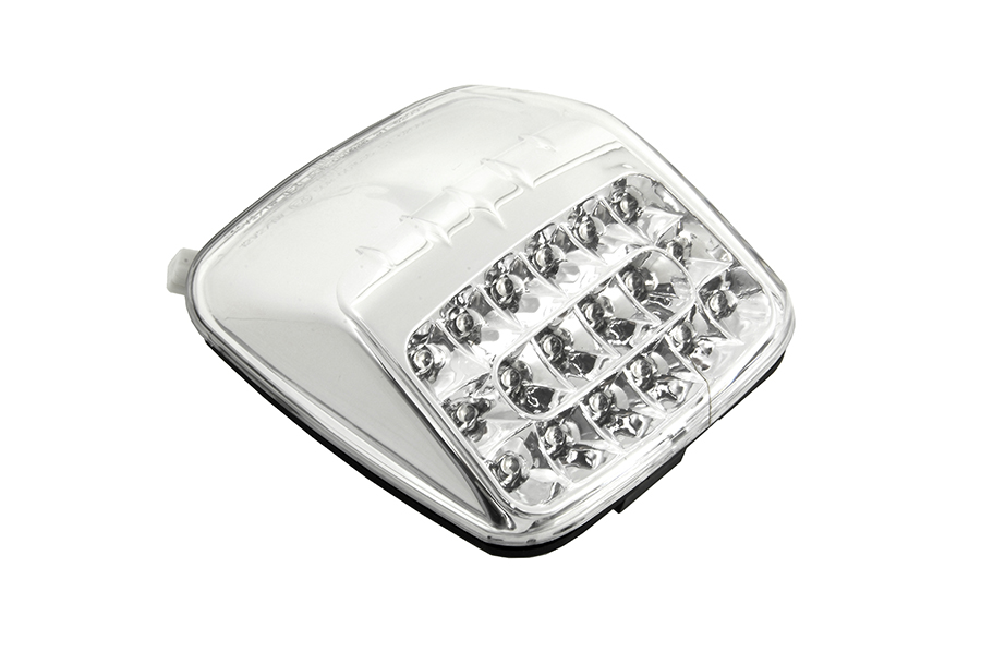 Lay Down Tail Lamp Assembly Clear LED