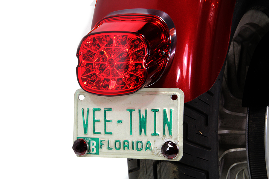 Lay Down Tail Lamp Assembly Red LED
