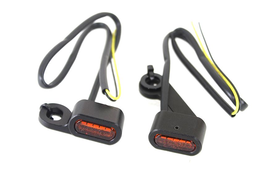 Black LED Turn Signal Set