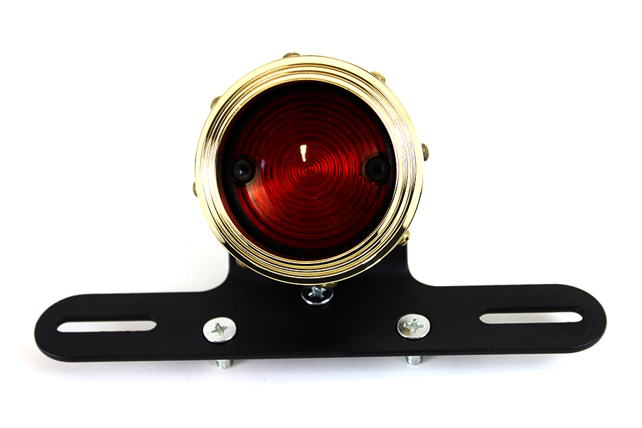 Brass Billet LED Tail Lamp Assembly