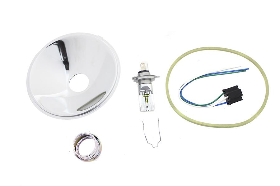 Spring Fork LED 6 Volt Headlamp Insert
