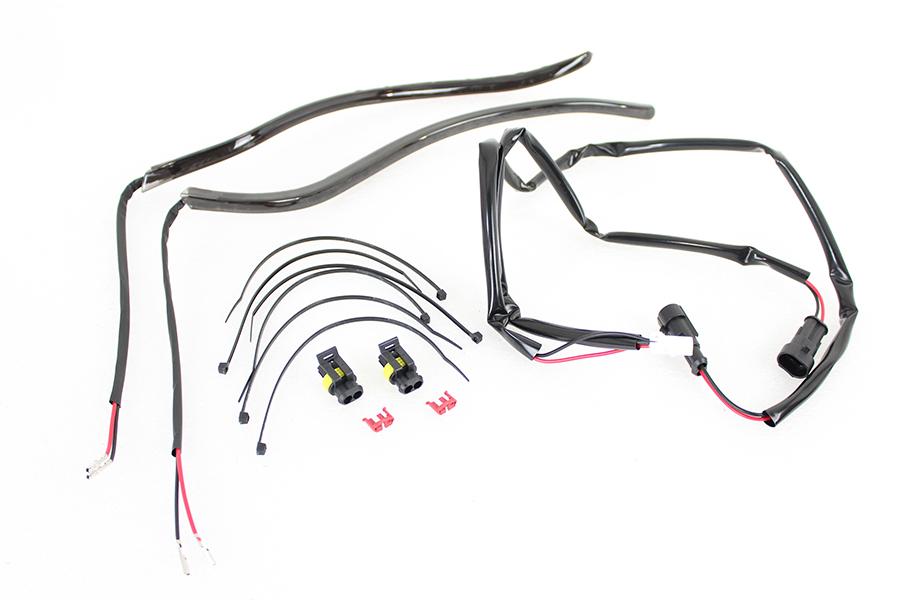 Fairing Edge Light Kit with White LED's